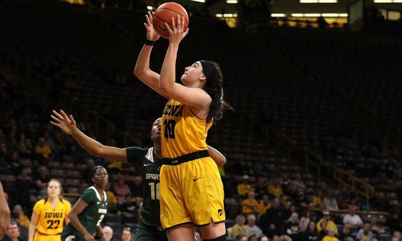 Iowa and Michigan Earn Weekly Women's Basketball Awards