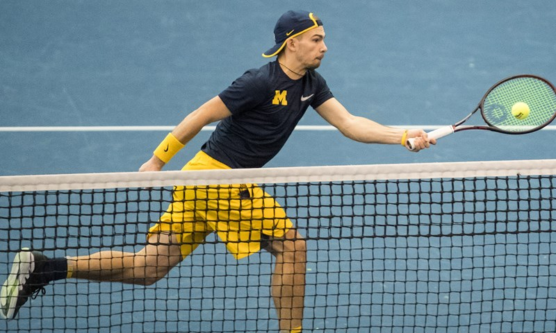 Michigan Collects Men's Tennis Athlete of the Week