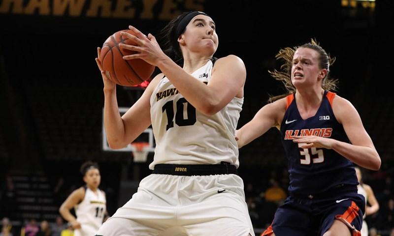 Iowa and Ohio State Earn Weekly Women's Basketball Awards