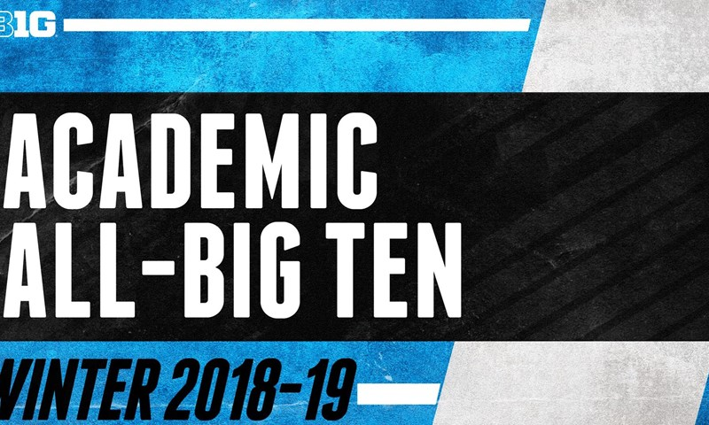 Big Ten Recognizes Winter Academic All-Big Ten Honorees