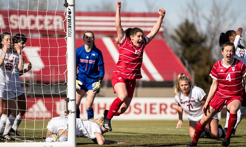 Indiana, Ohio State, Purdue and Rutgers Collect Big Ten Weekly Women's Soccer Honors