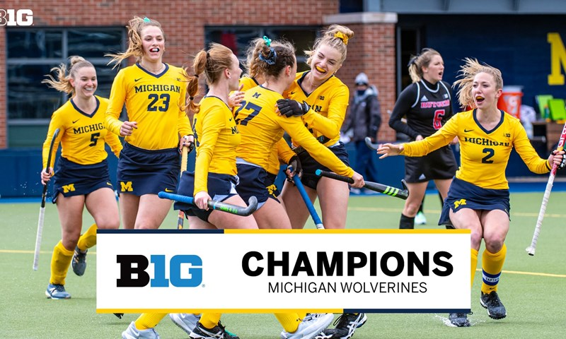Michigan Earns 2021 Big Ten Field Hockey Title
