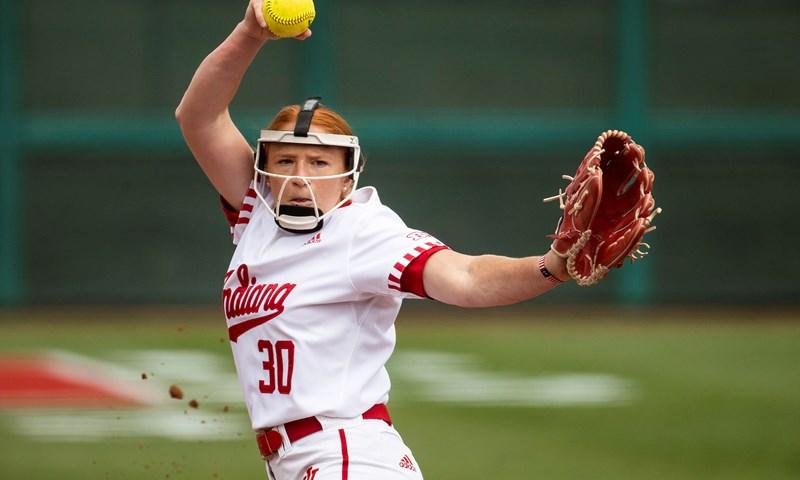 Indiana, Iowa, Maryland and Michigan Earn Big Ten Weekly Softball Awards