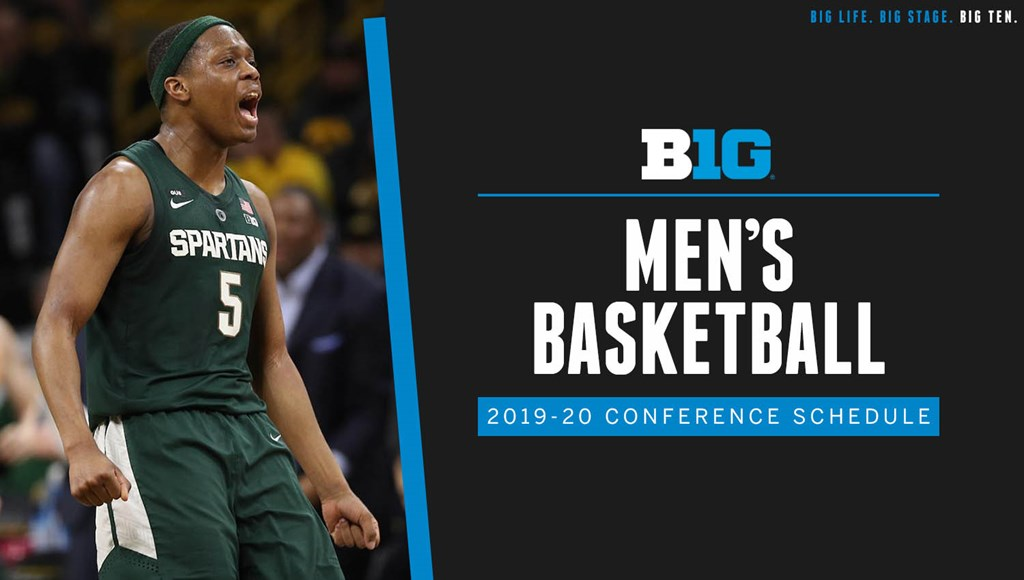 Big Ten Announces 2019 20 Men S Basketball Conference